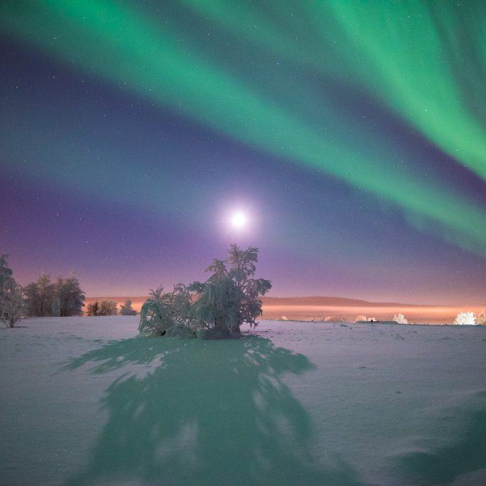 Ultimative Polarlichtwoche in Lappland (FIH1)