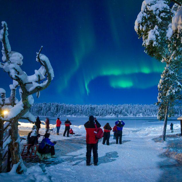 Polarlicht-Wochenende in Lappland (FIH2)