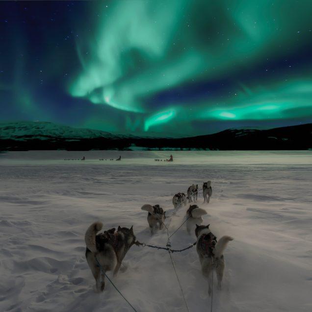 Familien Winterwoche am Polarkreis